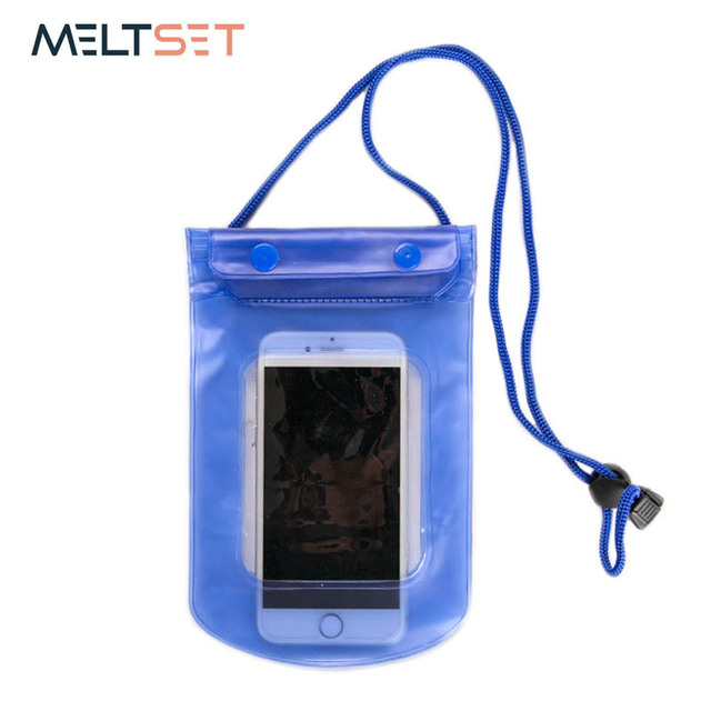 the latest 60c3c 524c3 US $1.29 30% OFF|Universal Waterproof Phone Pouch Transparent Phone Cover  for Diving Travel Drawstring Smart Phone Bag Case for Swimming -in Storage  ...