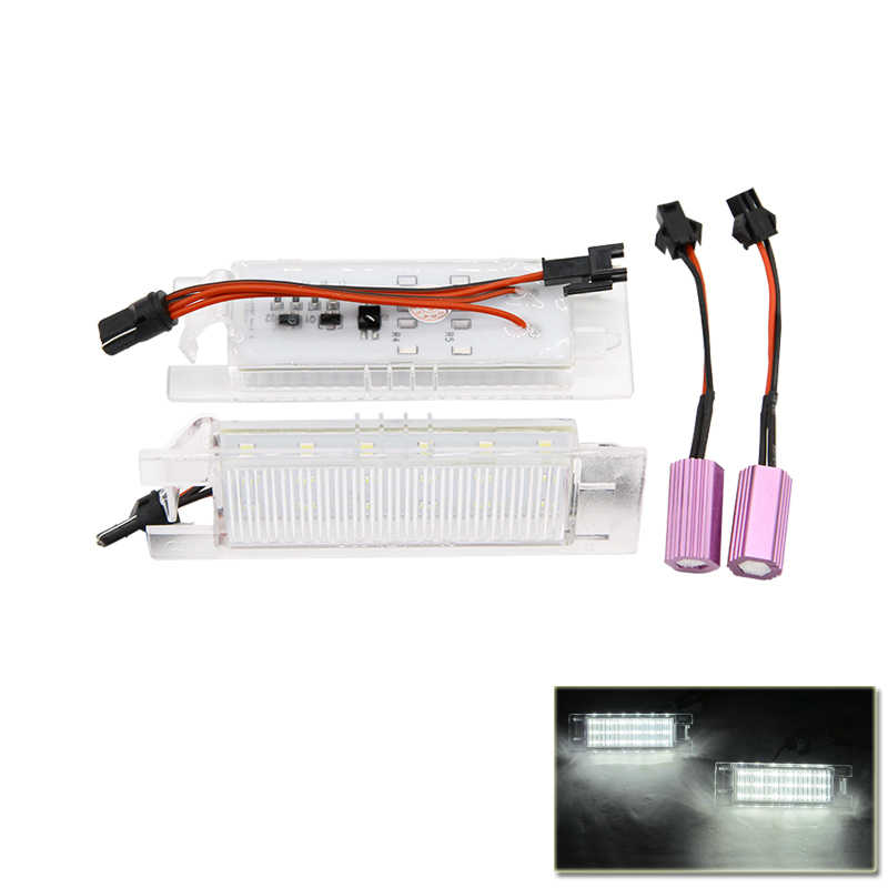 REPLACE #GM20944894 LED NUMBER LICENSE PLATE LIGHT LAMP FOR CHEVROLET  MALIBU 2013-2015 FOR CAMARO 2014-UP CAR-STYLING
