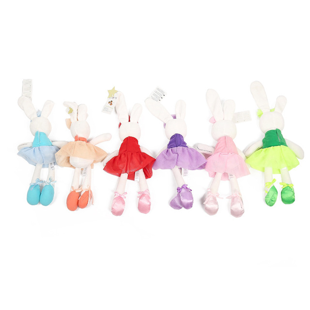 Soft Plush Cartoon Rabbit Toy