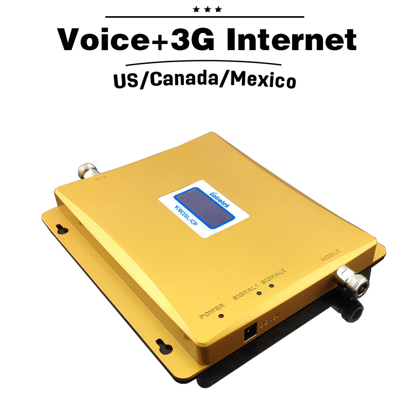2G 3G GSM 850 PCS 1900 Dual Band Repeater 65dB 3G UMTS 850mhz 4G - Ανταλλακτικά και αξεσουάρ κινητών τηλεφώνων - Φωτογραφία 3