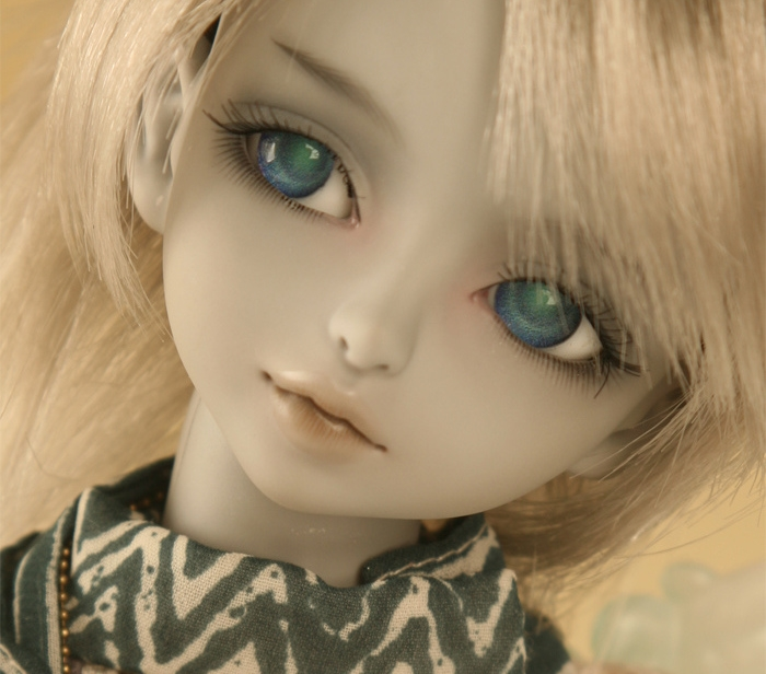 Free shipping makeup and font b eyes b font included top quality 1 4 bjd doll