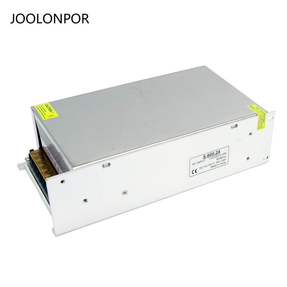 AC to DC Single Output Power Supply Module AC 110V 220V to DC 24V 25A 600W Switching Power Supply for Strip ac dc ac dc for those about to rock we salute you lp
