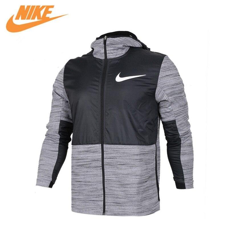 NIKE Original New Arrival Authentic THERMA Men's Windproof Jacket Hooded Sportswear 857045-010 857045-657 original new arrival 2017 nike men s jacket hooded sportswear