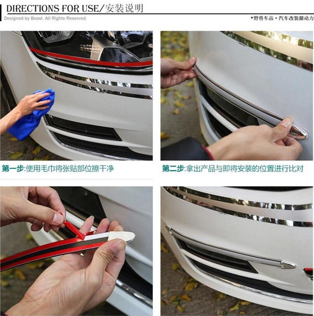 Car Styling Protective Strip Sticker For Vauxhall Opel