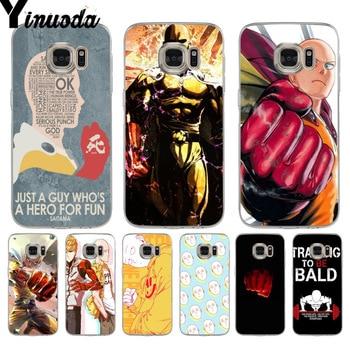 Yinuoda ONE PUNCH MAN Originaltransparent soft tpu Phone case cover for samsung galaxy s7 s6 edge plus s5 s9 s8 plus case