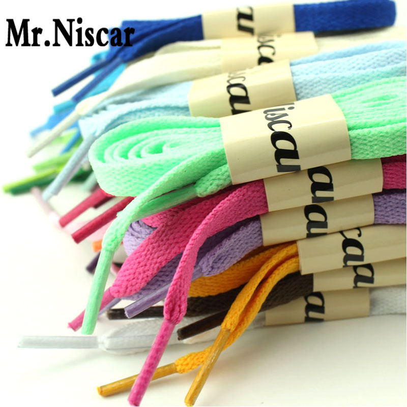 1 Pair Athletic Sport Sneaker Flat Shoelaces Roller Skates Flat Shoestring Casual Shoe Laces String Length 100-140 CM