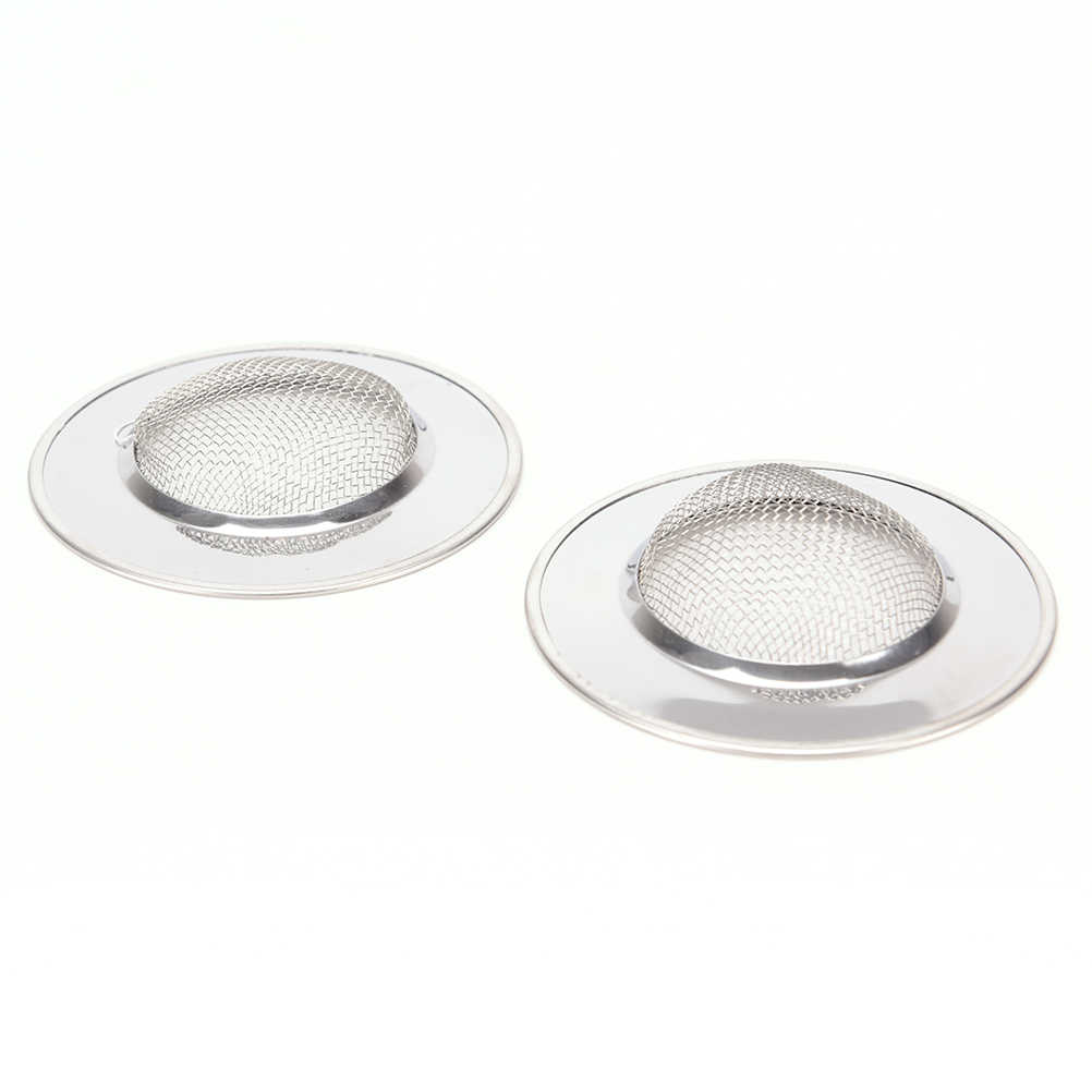 Sewer Stopper Basket Bathtub Mesh Trap Sink Strainer Waste Catcher Drain Filter
