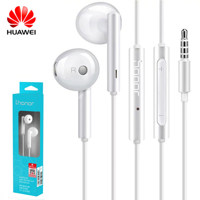 Huawei Honor AM115 Earphone 3.5mm in Ear Earbuds Headset Wired earphone for Huawei P10 P9 P8 Mate9 Honor 8 phone earphones(China)