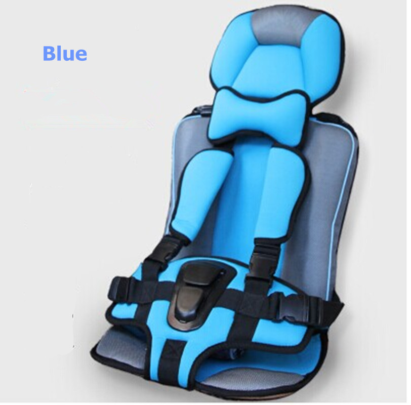 ФОТО New Car Safety Booster Seat Cover 4 Colors Portable Baby/Kids/Infant/Children Car seats Multi-Function Baby Sitting Chair in Car