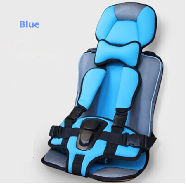 Nova Tampa do Assento de Segurança Do Carro 4 Cores Portátil Do Bebê/Crianças/Infantil/Crianças assentos de Carro de Multi-função Cadeira Assento Do Bebê no Carro