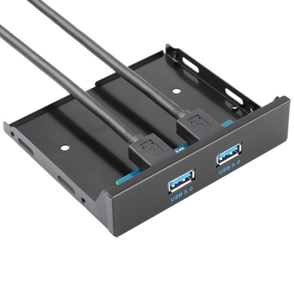 Floppy Disk USB 3.0 20 Pin 2 Ports Vorderseite Bay Hub ...