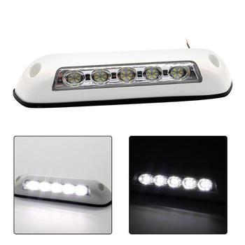 Luz LED blanca de 12V para toldo de caravana, luz para porche, IP67, impermeable, para remolque, caravana, Exterior, piezas de RV de goma 2