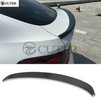 F26 X4 Carbon Fiber rear wings trunk Lip spoiler for BMW X4 F26 rear spoiler body kit 3D style 14 UP