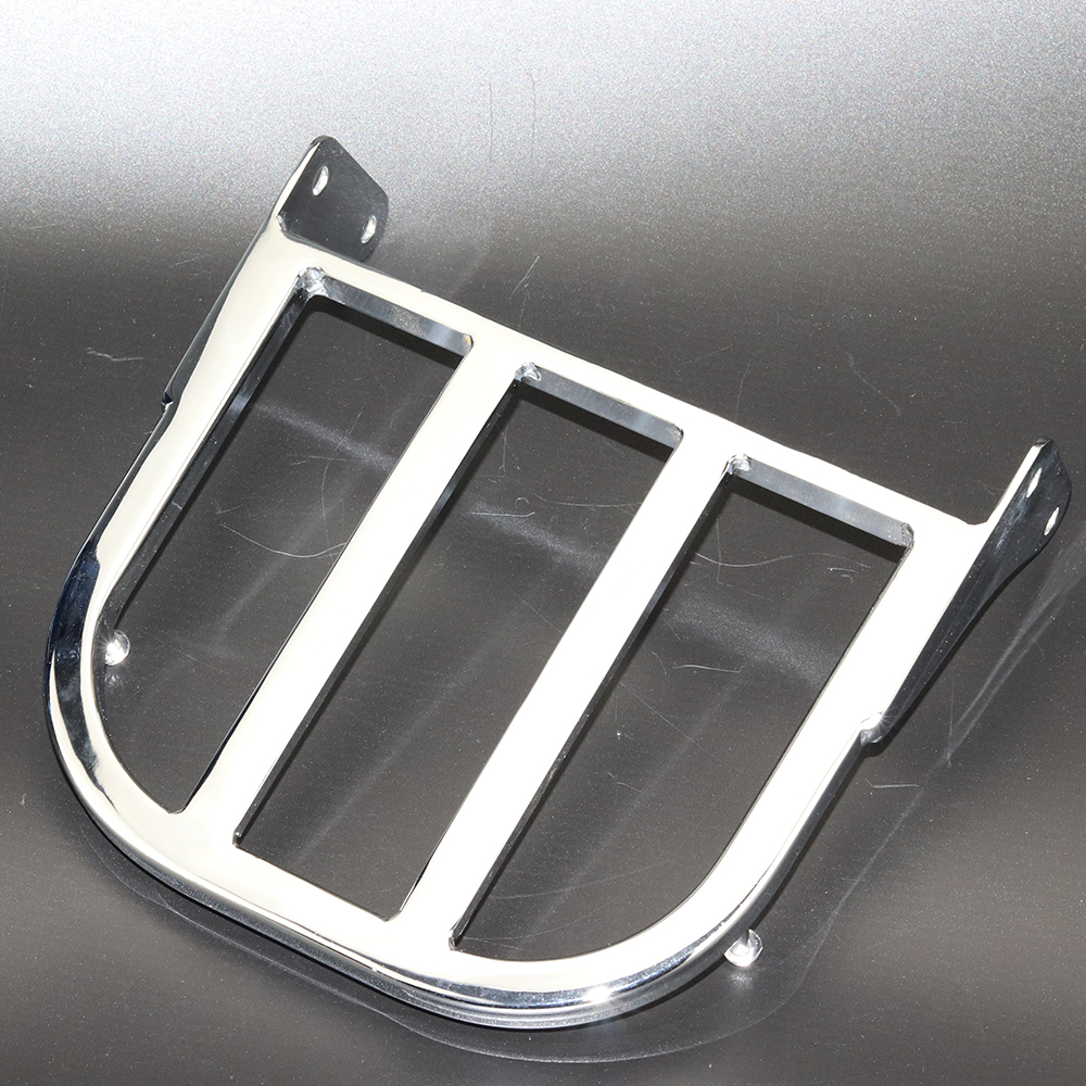 Chrome Motorcycle Rear Sissy Bar Luggage Rack For Suzuki Intruder Volusia VL800 2001 2011 Boulevard M50