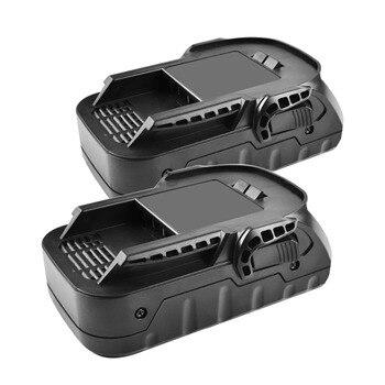 2X 2000mAh 18V Rechargeable Li-ion Battery For Ridgid R840083 R840085 R840086 R840087 L1815R BFL18