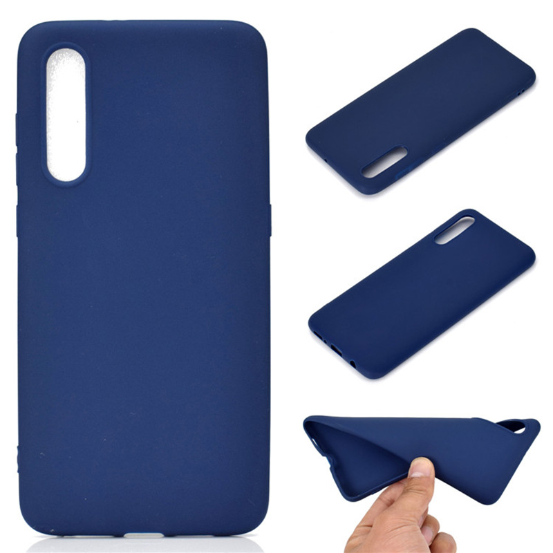 Ultra thin solid color silicone case for <font><b>samsung</b></font> galaxy <font><b>a50</b></font> SM-A505 tpu back cover fundas coque <font><b>hoesje</b></font> kryt tok etui carcasa image