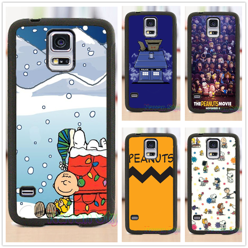 Peanuts Christmas cell phone case cover for Samsung Galaxy s3 s4 s5 note 3 note 4 note 5 s6 s7 s6 edge s7 edge #CG254