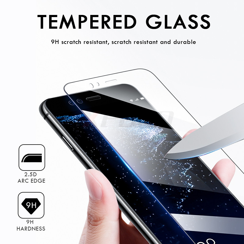 Image 2 - 3Pcs Full Cover Tempered Glass For Huawei P20 Pro P30 Lite P Smart P10 Plus Screen Protector For Honor 20 10 Lite 8X Glass Film-in Phone Screen Protectors from Cellphones & Telecommunications