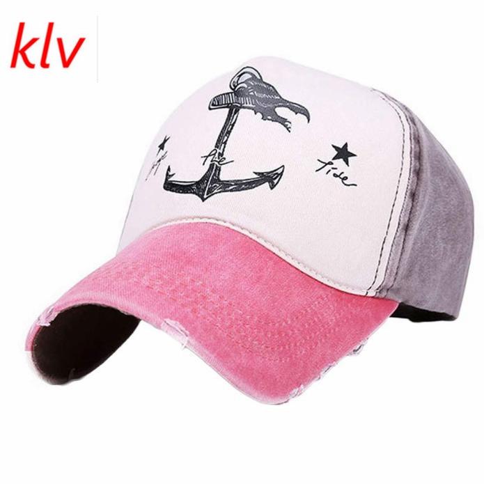 6d2d3d3a862 Fankris 2017 KLV Customized Superior Men Women Cartoon Anchor Pattern  Fabulous Cap Fashion Casual Snapback Hats Hip Hop Gorras-in Baseball Caps  from Apparel ...