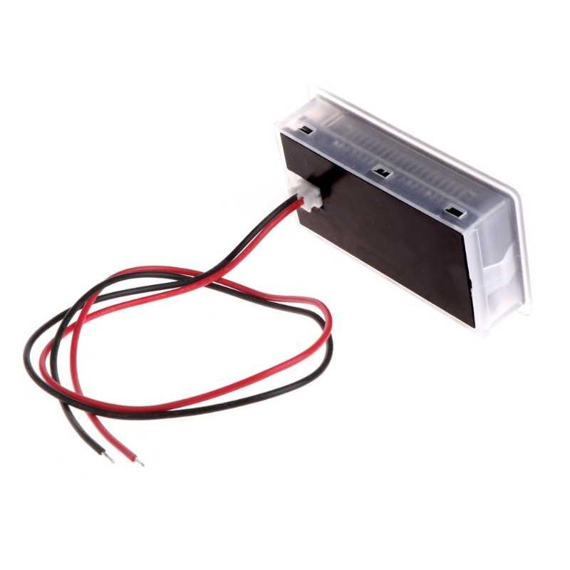 10-100V Universal Kapasitas Baterai Voltmeter Tester LCD Mobil Lead-Acid Indikator 10166