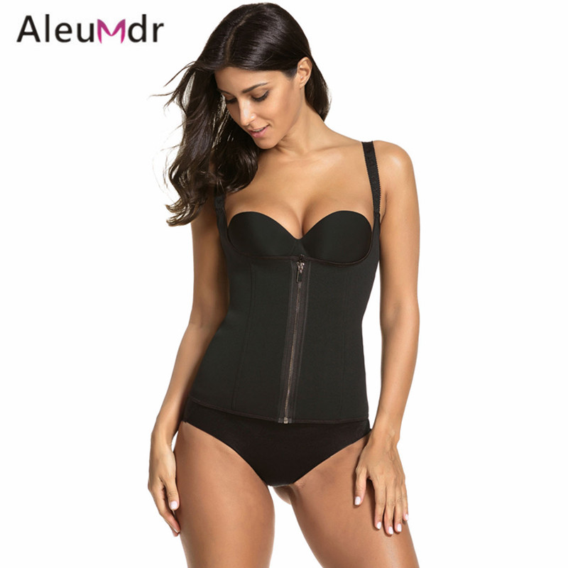 Aleumdr Plus Size Waist Trainer Fitness Belt For Women Sport Gym Neoprene Adjustable Waist Training Corset Girdle Slim LC50039 plus size printed empire waist peplum top
