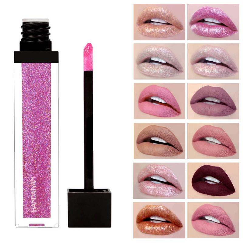 CHANLEEVI Sexy Nude Color Liquid Lipstick Matte Pigment