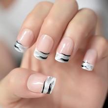 Großhandel Nail Tips Zebra Gallery Billig Kaufen Nail Tips Zebra