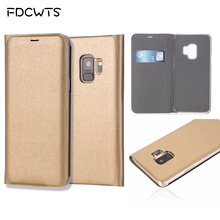 Flip Wallet Cover Leather Phone Case For Samsung Galaxy S9 Plus S8 S7 edge S6 S 6 7 9 Note 8 S9Plus S8Plus S7edge S6edge Note8