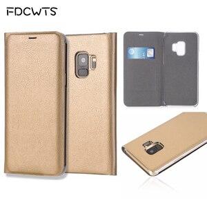 Image 1 - กระเป๋าสตางค์ฝาครอบหนังสำหรับSamsung Galaxy S9 Plus S8 S7 Edge S6 S 6 7 9 หมายเหตุ 8 S9Plus S8Plus S7edge S6edge Note8