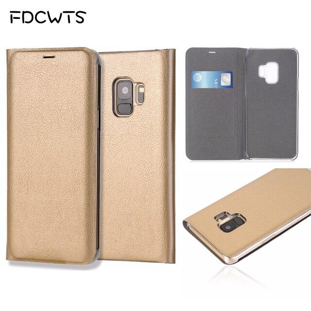 กระเป๋าสตางค์ฝาครอบหนังสำหรับSamsung Galaxy S9 Plus S8 S7 Edge S6 S 6 7 9 หมายเหตุ 8 S9Plus S8Plus S7edge S6edge Note8