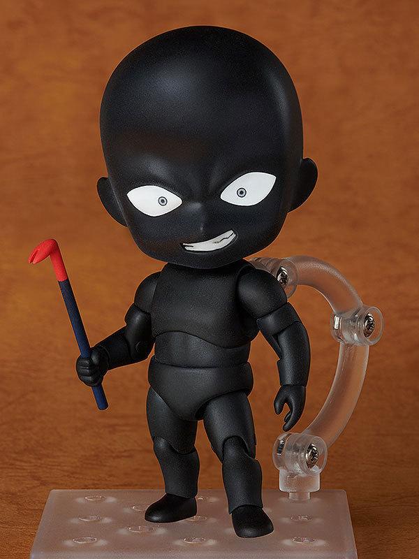 Nendoroid Mini Action Figure – 878 BlackMan Mystery Man Hannin Anime Detective Conan BJD