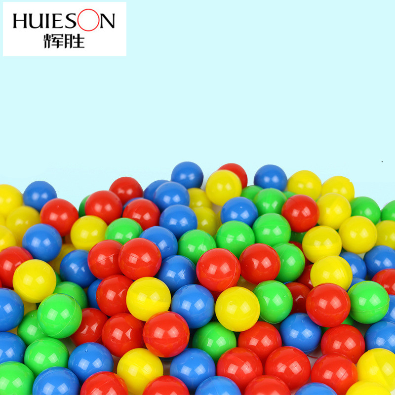 Huieson 50Pcs/Pack Colorful Environmental Ping Pong Balls Openable PVC Balls For Lottery Game Advertisement 40mm Diameter Balls