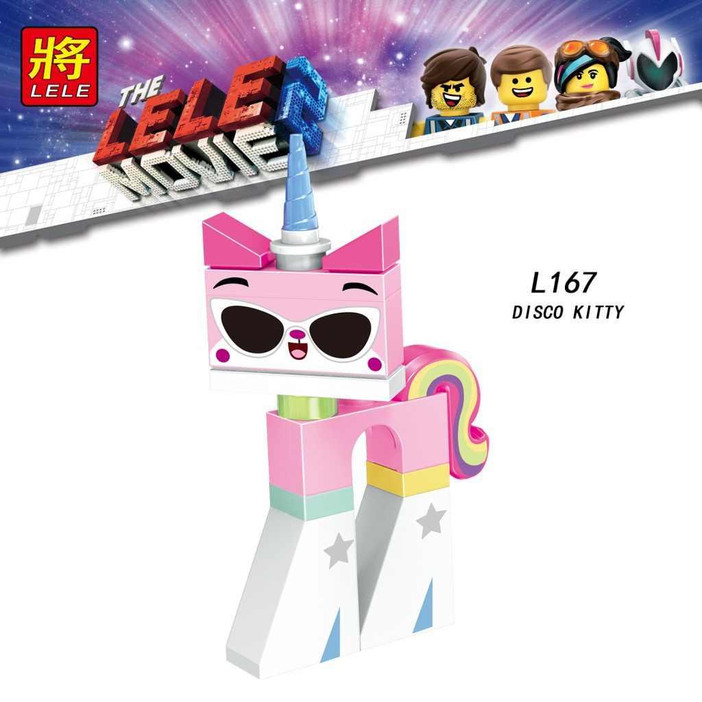 Legoing Bạn Bè Cho Bé Gái Công Chúa Họa Tiết Hoạt Hình Dễ Thương Disco Kitty Unikitty Mèo Nhân Vật Khối Xây Dựng Mô Hình Đồ Chơi Trẻ Em Tặng Legoings