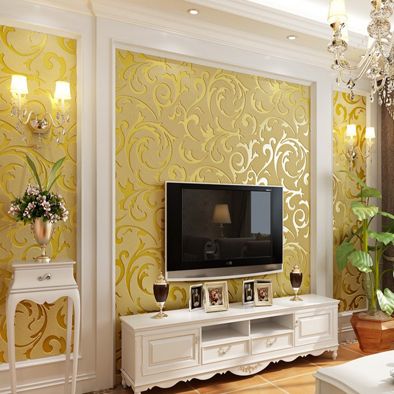 Free Shipping European style deer wallpaper living room bedroom hotel restaurant TV background decorative wallpaper free shipping living room bedroom office traditional magic chinese dragon wallpaper ktv bar restaurant hotel wallpaper mural