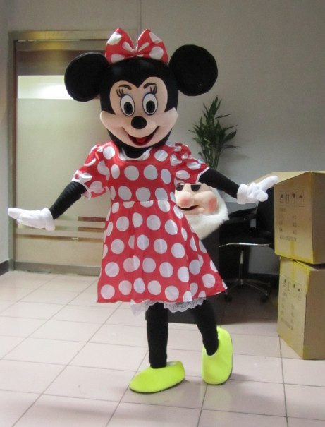 High quality mouse mascot Mouse mascot costume free shipping