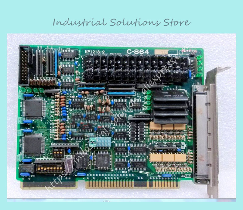 C-864 motor servo control card KP1218-2 ISA card 100% tested perfect quality dt00461 dt00511 dt00521 dt00401