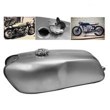 Motorcycle 9L Gas Fuel Tank Cafe Racer Unpainted Universal Oil Box Raw Bare Fit for BMW Honda Yamaha Suzuki Triumph Choppers(China)