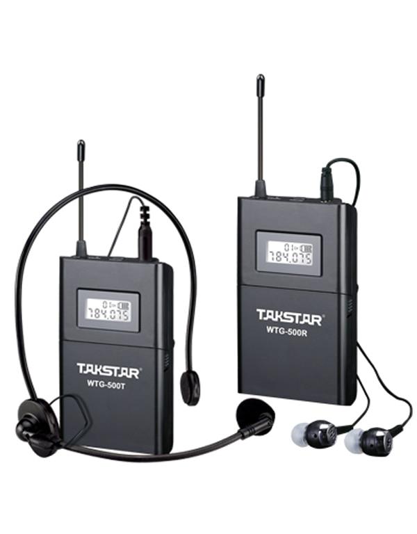 TAKSTAR UHF Wireless Tour Guide / Simultaneous Translation /Audio visual eduation System