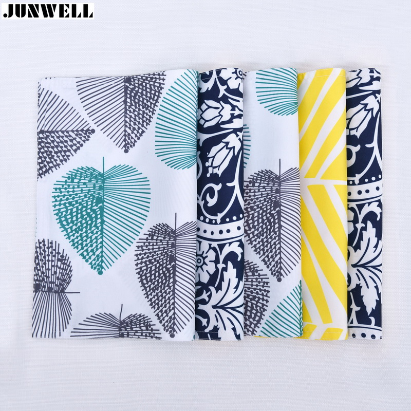 Junwell Polyester Fabric Placemat Home Table Decoration Accessories Heat-insulated Tableware Chic Kitchen Dinning Bowl Pad Mat