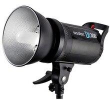 Godox DE300 300 Вт компактный студийный FL As H Light Строб освещение лампы Глава 300Ws, дать кабель синхронизации, Godox 55 standard крышка as подарок