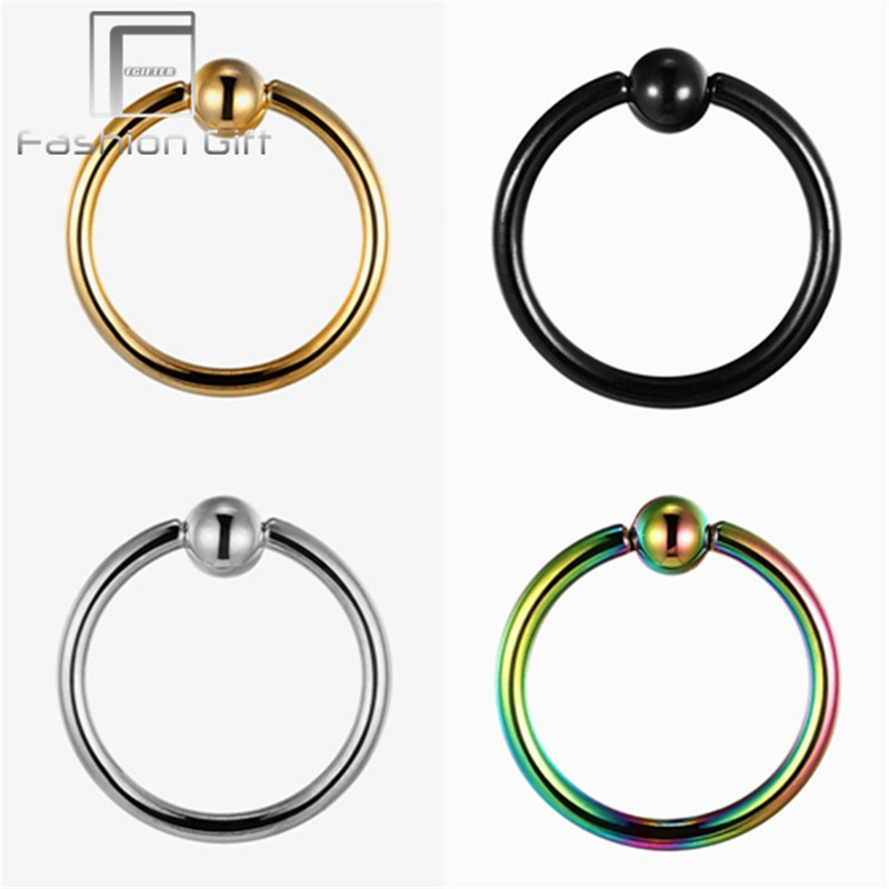 Universal Body Piercing Jewelry For Tragus Navel Earring Lip Eyebrow Pircing Nariz Medical Anium In From