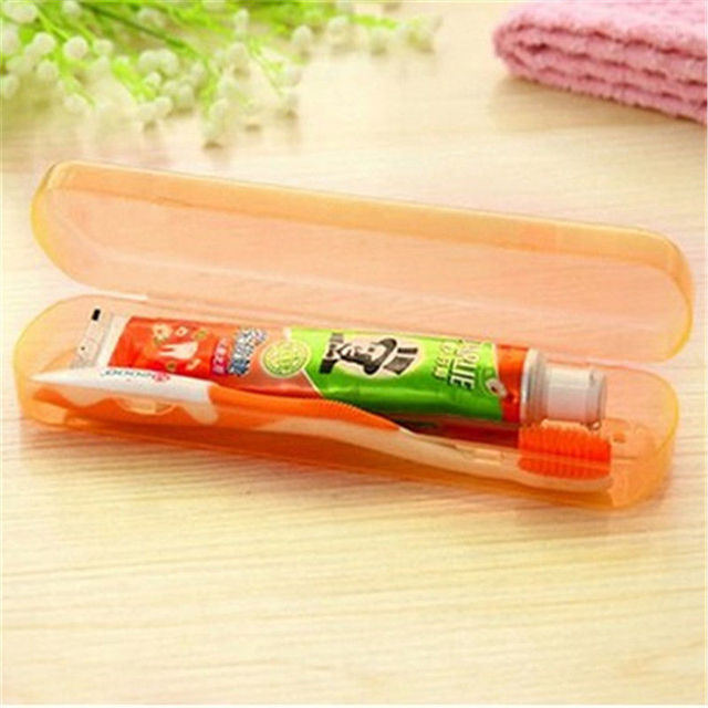 Travel Portable Toothbrush & Toothpaste Storage Protect Case – Business Travel Accessory