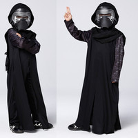 Boys Deluxe Star Wars The Force Awakens Sylo Ren Classic Cosplay Clothing Halloween Kids Movie Costumes