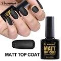 Vrenmol 1pcs Semi Permanent Matt Top Coat Nail Gel Polish Soak Off UV LED Nail Gel Lacquer Matte Top Coat Gel Nail