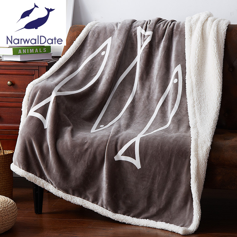 ФОТО Polyester Sofa Throw Blanket Cross Blanket Bedspread for Kids/Adult for Living Room Double Blanket