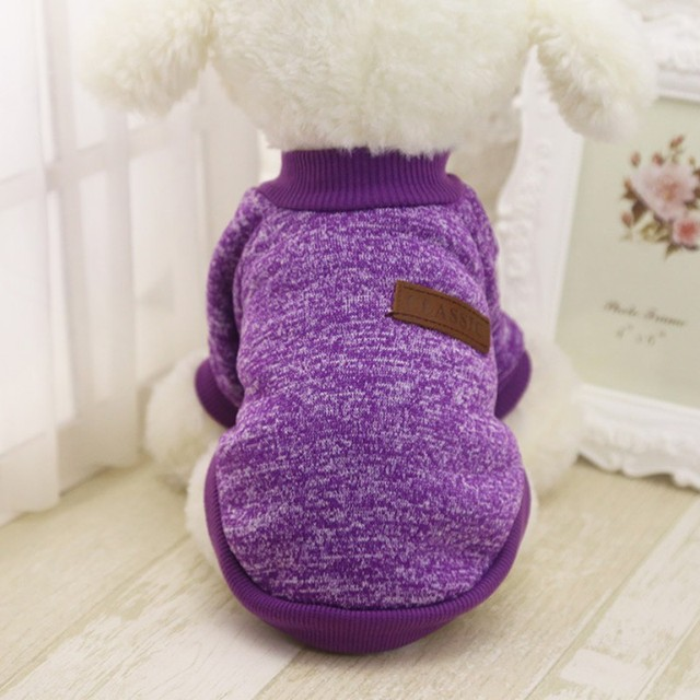 Pet Dog Clothes Chihuahua Winter Warm Cotton Cat Hoodies Sweatshirt Pet Coat Jacket Clothes for dogs roupas para cachorro