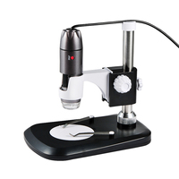 Portable USB Digital Microscope 1000X 8 LED 2MP Endoscope Magnifier Camera HD CMOS Sensor Stand