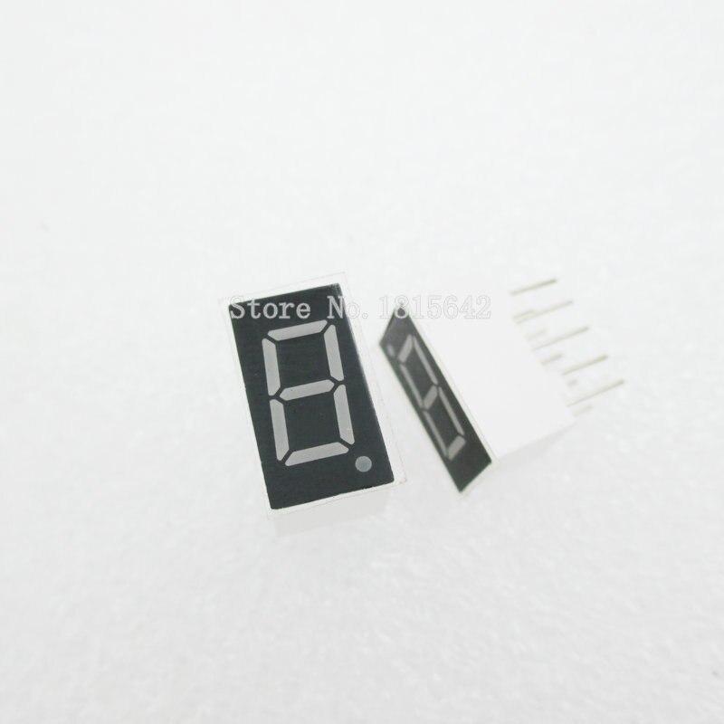 10PCS/LOT 1bit 1 Bit Common Cathode Digital Tube 0.36