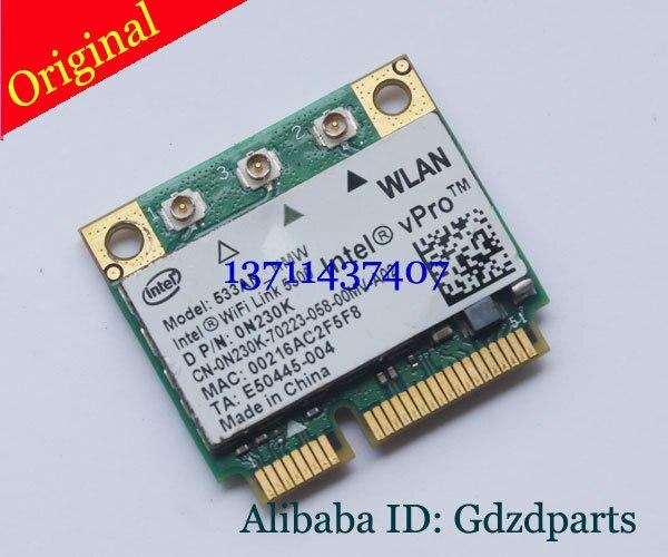 Notebook intel wifi link 5300 533an_hmw wlan mini pc karte para dell latitude e6400 e6500 p/n: 0n230k mini pci-e