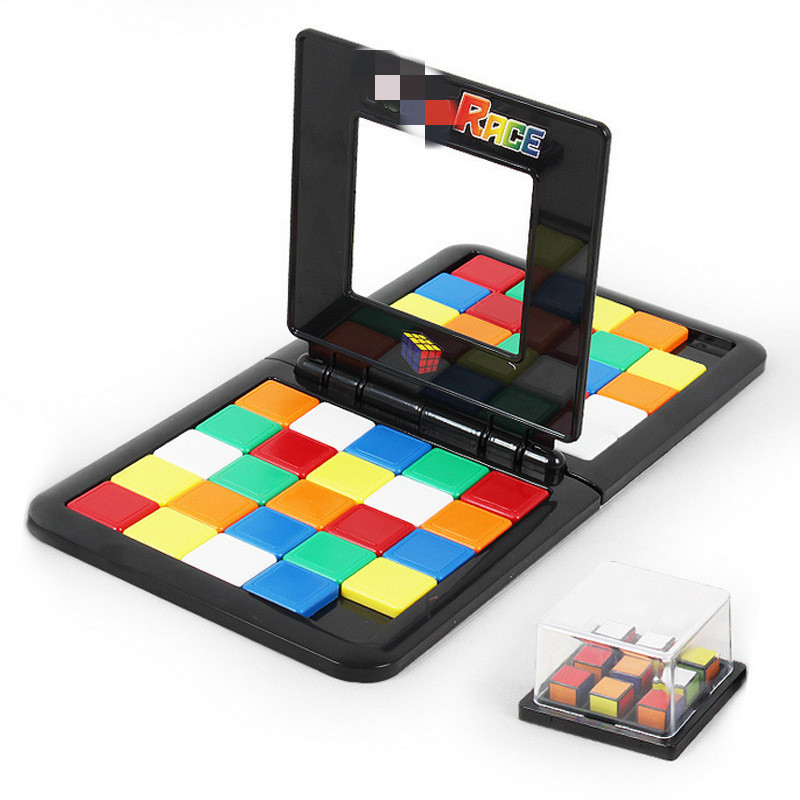 48 color digital Game Magic block 3D Games and Puzzles Cubes Race Cube Board  Kids Adults Education Toy Parent-Child double toys48 color digital Game Magic block 3D Games and Puzzles Cubes Race Cube Board  Kids Adults Education Toy Parent-Child double toys